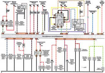 электросхема блока управления электрическим оборудованием
