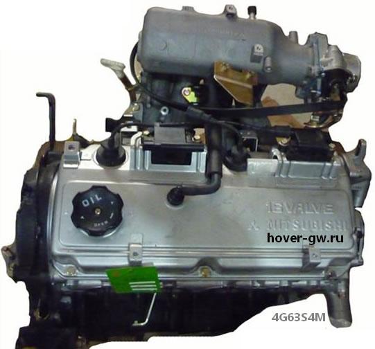 двигатель 4g63s4m