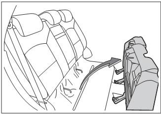 поднятие подушки заднего сиденья