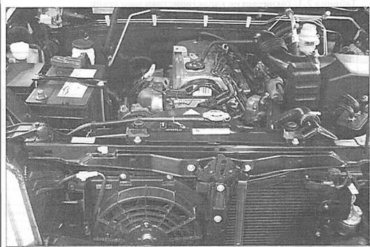 схема бензиновый двигатель 4g64s4m