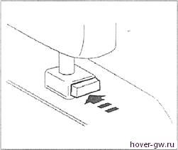 Складывание задних сидений Great Wall Hover (Haval H5, H3 Ховер)
