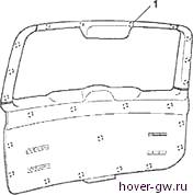 Купить обшивка дверей для Грейт Волл Ховер Х5 (Great Wall Hover H5) в Москве — цены, фото, OEM-номера запчастей | ФарПост